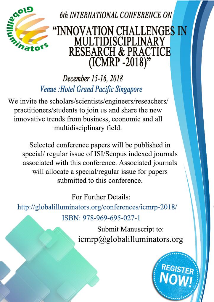 ICMRP 2018 | Global Illuminators